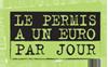 permis 1 €